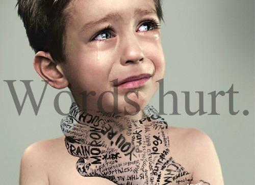 words hurt children